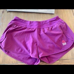 Reebok fuschia Crossfit shorts